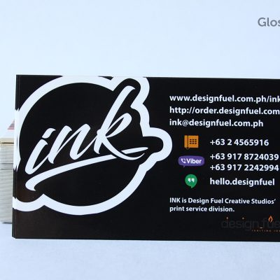 Gloss laminated business card ink online printing service by gloss laminated business card reheart